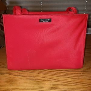 Kate Spade - Original Sam w/ Tab Red Fabric